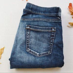 Diesel medium wash low-rise bootcut jeans